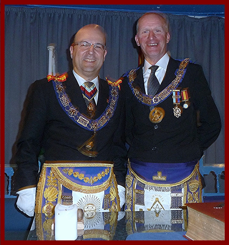 R.W.Bro. Giles David Crawford, Provincial Grand Master of Andalucia