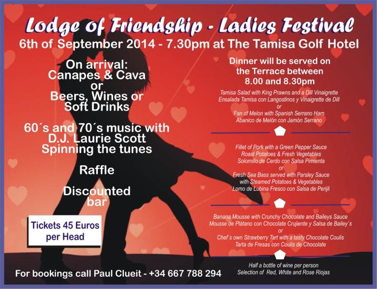 Ladies Festival 2014 Poster - 2