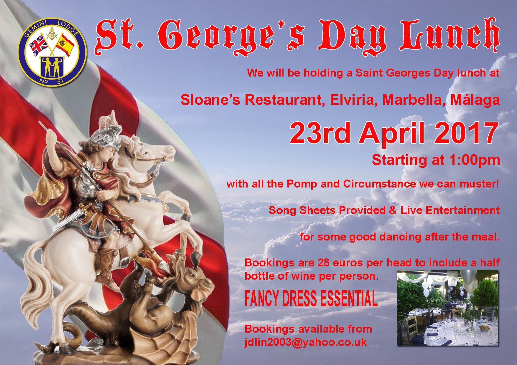 Celebración día de San Jorge
